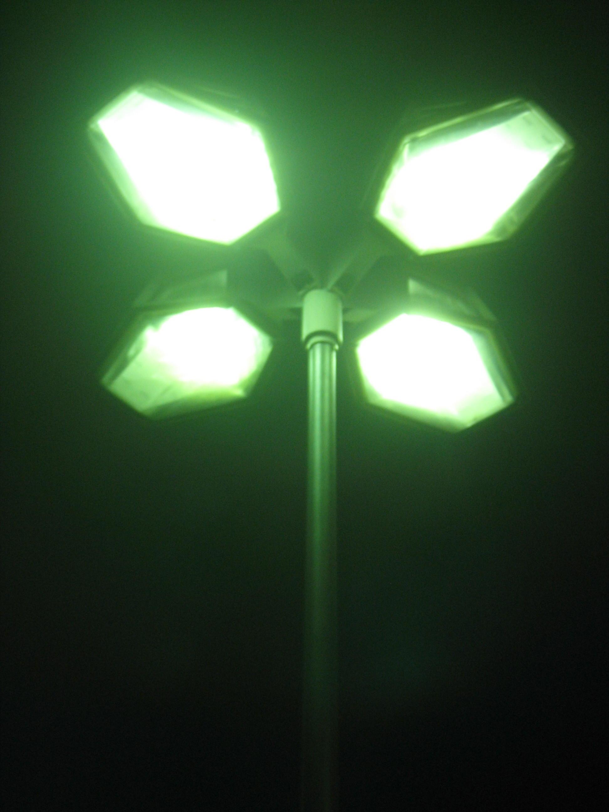 Foggy Night Lights