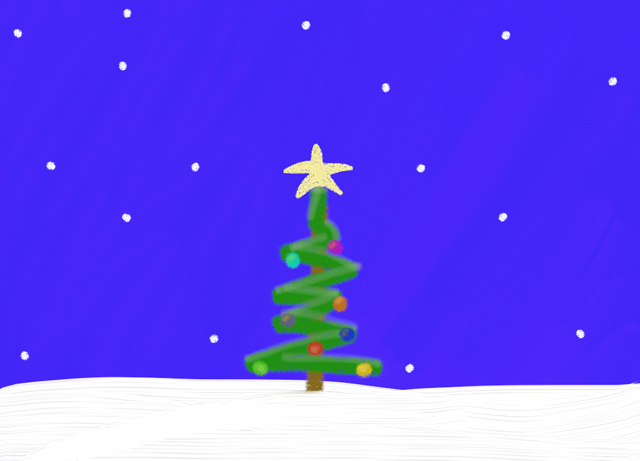 Christmas_Tree_in Snow