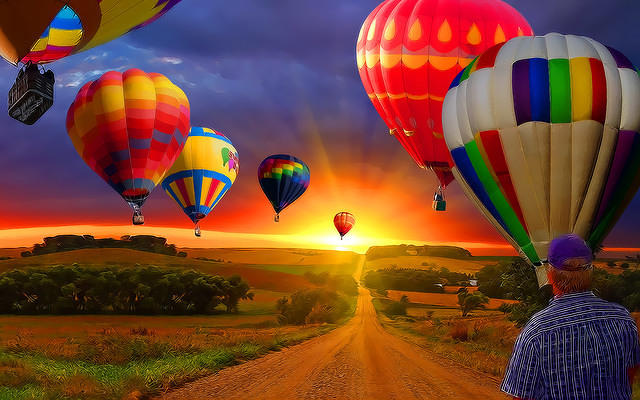 Country-Road-with-Balloons