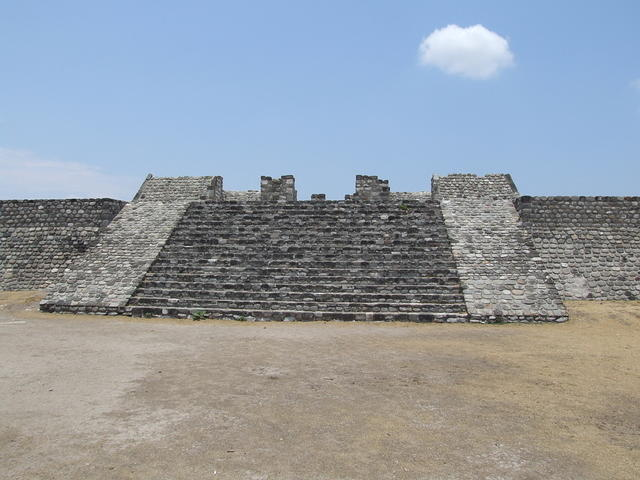Ruined Temple Entrance (Xochicalco)