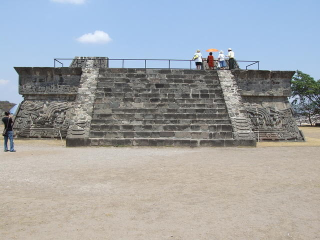 Temple with Stone Carvings (Xochicalco)