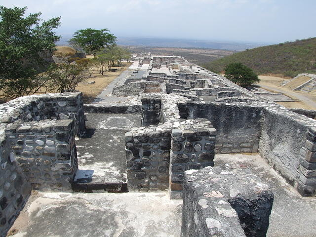 Ruins at Xochicalco