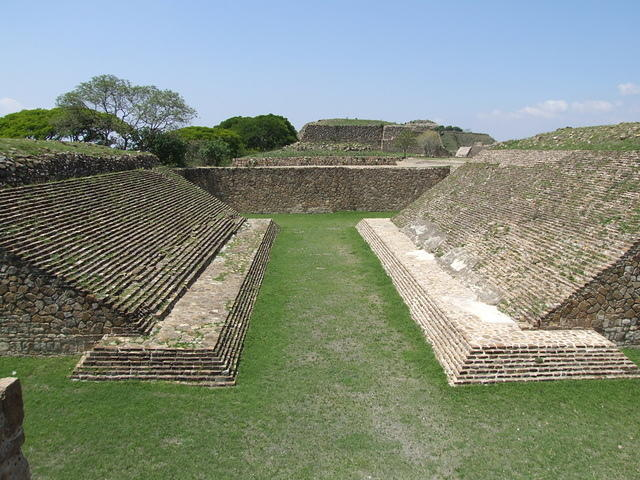 Ball Court at Monte Alban