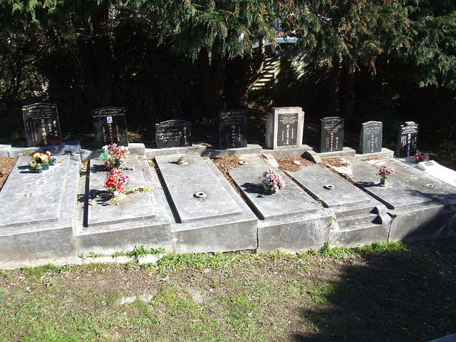 Chinese Graves, Karori Cemetery, Wellington, New Zealand