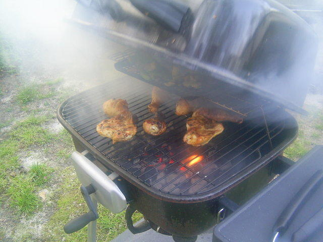 BBQ Chicken on da Grill