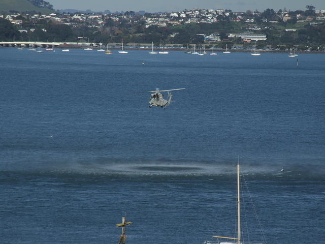 NZ Navy Helicopter