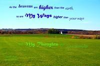 God's Ways--Thoughts Higher
