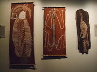 Aboriginal Art, Adelaide Museum, South Australia