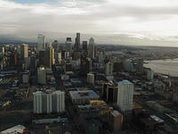 seattle skyline city view