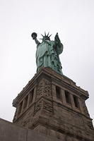 Statue of Liberty from Pedestal