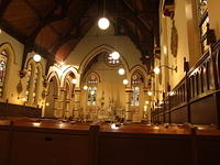 School chapel interior, North Sydney, Australia