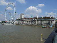 The London Eye and the Aquarium