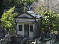 Mausoleum, Karori Cemetery, Wellington, New Zealand