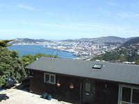 Wellington, from Khandallah, New Zealand
