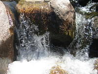 Yuba River waterfall