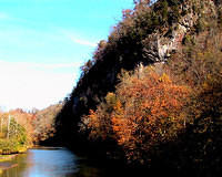 Clinch River At Fort Blackmore, Southwest Virginia