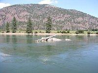 clark fork at paradise