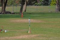 Water rocket ready for launch