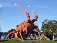 "Giant Lobster ""Sculpture"""