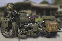 Harley Davidson, remenbrance of May 8 th,1945 in France-2