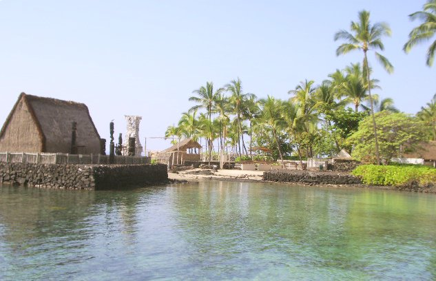 A'huena Heiau and Kamakahonu Beach
