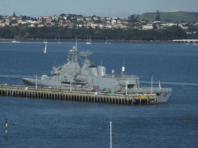 NZ Navy Frigate