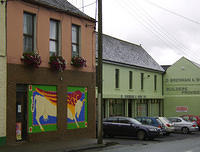 Kilcullen_Shops_with_WindowPainting