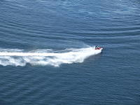 jetski on the water